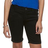 Women's Apt. 9® Cuffed Bermuda Jean Shorts