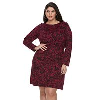 Plus Size Apt. 9® Ruched Waist Dress