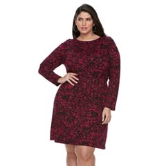 Plus Size Apt. 9® Ruched Waist Dress