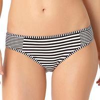 Women's Cole of California Striped Bikini Bottoms