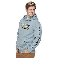 Men's Vans Shot Snap Pullover Fleece Hoodie
