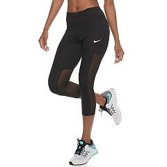 Women's Nike Power Running Midrise Capri Leggings