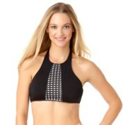 Women's Cole of California D-Cup High Neck Halter Bikini Top