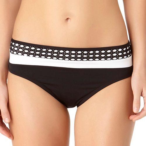 Women's Cole of California Mesh Banded Bikini Bottoms