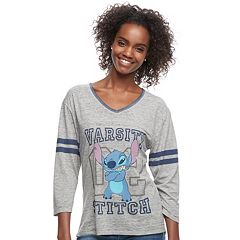 Disney's Lilo & Stitch Juniors' 'Varsity Stitch' Graphic Tee