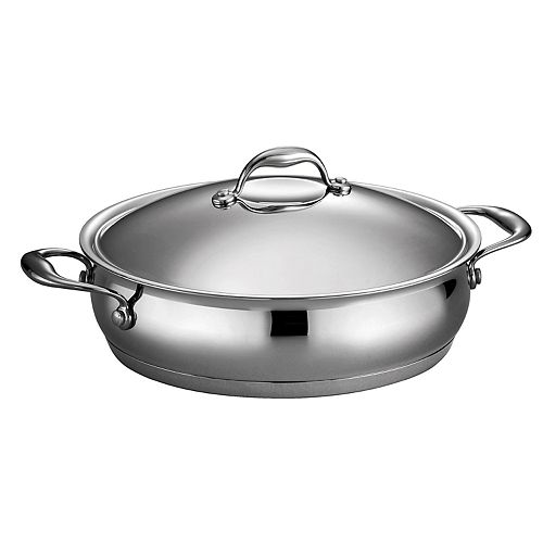 Tramontina Gourmet 5-qt. Domus Tri-Ply Stainless Steel Braiser