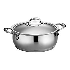 Tramontina Gourmet 5-qt. Domus Tri-Ply Stainless Steel Dutch Oven