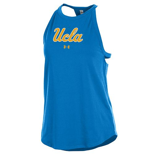Women's Under Armour UCLA Bruins Charged Tank Top