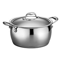 Tramontina Gourmet 6-qt. Domus Tri-Ply Stainless Steel Sauce Pot
