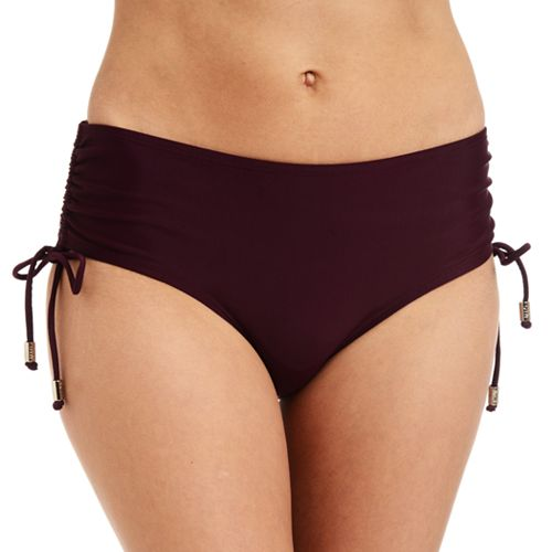 Women's Cyn and Luca Ruched Scoop Bikini Bottoms