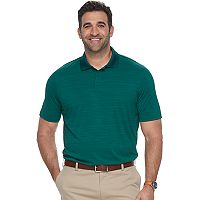 Big & Tall Croft & Barrow® Cool & Dry Classic-Fit Space-Dye Performance Polo