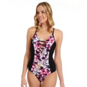 Women's Cyn and Luca Floral One-Piece Swimsuit