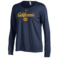 Women's Under Armour Cal Golden Bears Charged Tee