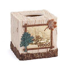 Avanti Nature Walk Tissue Box Cover