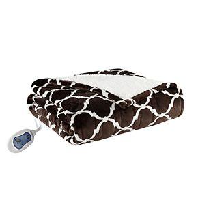 Beautyrest Ogee Heated Snuggle Wrap