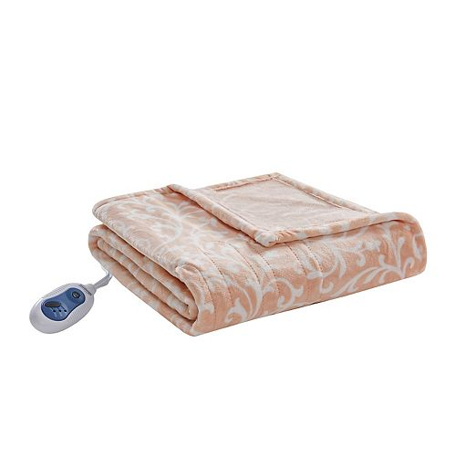 Beautyrest Adelynn Oversized Heated Throw