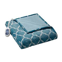 Beautyrest Ogee Heated Throw