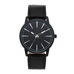 Men's Black Dress Watch