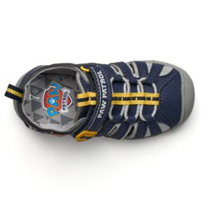 Paw Patrol Chase & Marshall Toddler Boys' Light-Up Fisherman Sandals