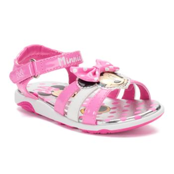 Disney Minnie Mouse Toddler Girls' Sandals