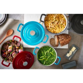 Food Network™ 3.5-qt. Enameled Cast-Iron Dutch Oven