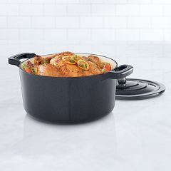 Food Network™ 5.5-qt. Enameled Cast-Iron Dutch Oven