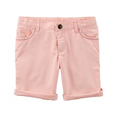 Girls 4-8 Carter's Rolled Cuff Shorts