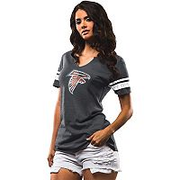 Women's Majestic Atlanta Falcons Go For Two Tee