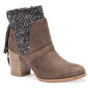 MUK LUKS Elizabeth Women's Water Resistant Ankle Boots
