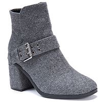 MUK LUKS Mae Women's Water Resistant Ankle Boots