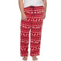 Plus Size SONOMA Goods for Life™ Pajamas: Microfleece Pants
