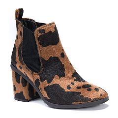 MUK LUKS Isabelle Women's Water-Resistant Ankle Boots
