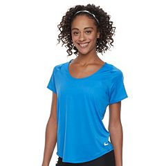 Women's Nike Dry Short Sleeve Running Top