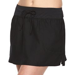 Women's Croft & Barrow® Solid Swim Skirt Bottoms