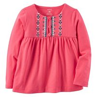 Girls 4-8 Carter's Embroidered Babydoll Top