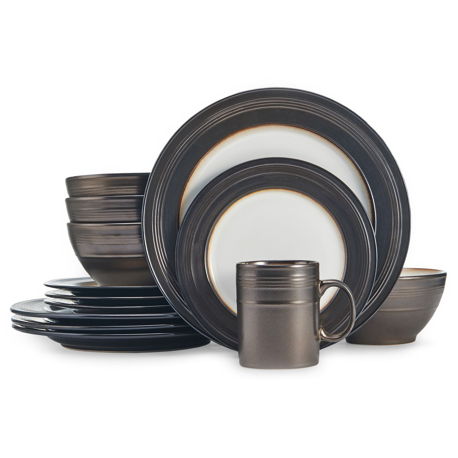 Dinnerware Set & Food Network™ Braise 16-pc. Dinnerware Set