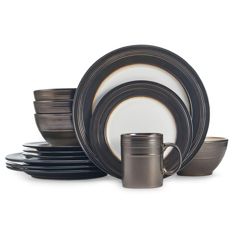 Dinnerware Set & Food Network™ Braise 16-pc. Dinnerware Set