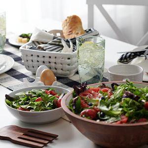 Food Network? Acacia Wood Salad Bowl Set