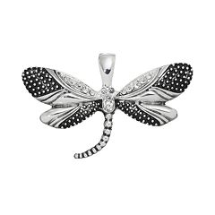 wearable ART Dragonfly Pendant