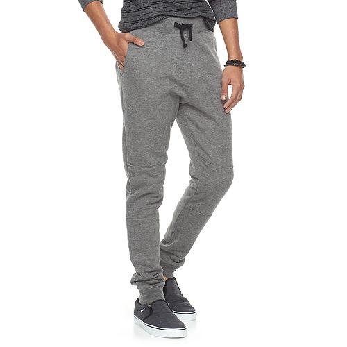 Men's Hollywood Jeans Piece-Knee Jogger Pants