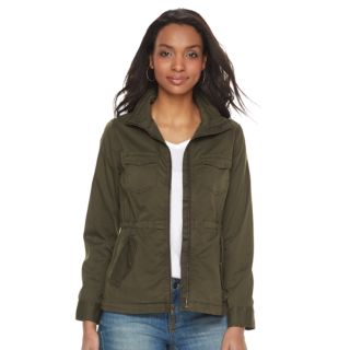 Petite SONOMA Goods for Life? Twill Utility Jacket