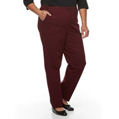 Plus Size Croft & Barrow® Twill Pull-On Pants