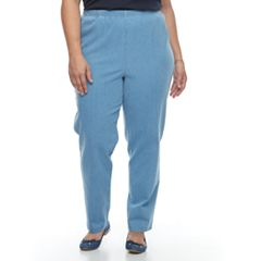 Plus Size Croft & Barrow® Pull-On Straight Leg Pants
