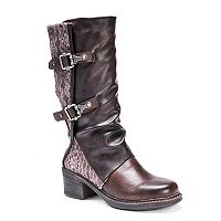 MUK LUKS Vivian Women's Water-Resistant Riding Boots
