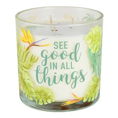 SONOMA Goods for Life™ Warm Summer Breeze Tropical 14-oz. Candle Jar