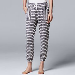 Women's Simply Vera Vera Wang Waking Hours Cropped Pant