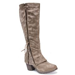 MUK LUKS Lacy Women s Water-Resistant Knee-High Boots 0cee09de65f4