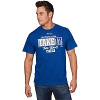 Men's Majestic Los Angeles Dodgers 2017 NL West Division Champs Participant Tee