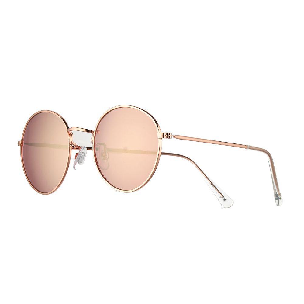 LC Lauren Conrad Wicklow 52mm Round Sunglasses