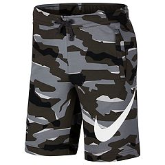 Men's Nike French Terry Camouflage Shorts